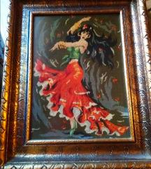 Plesačica, goblen