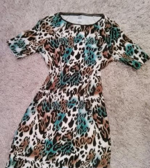 Retro haljina animal print XS do M