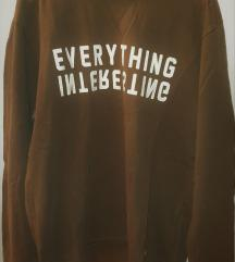 Muška majica (sweatshirt) sa natpisom