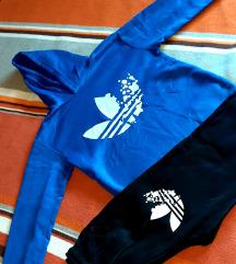 NOVO!!!Adidas trenirka XS