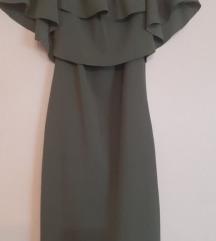Maslinasto zelena haljina