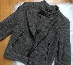 H&M tvid vunena zimska jakna