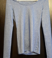 Tezenis šljokičasta uska majica