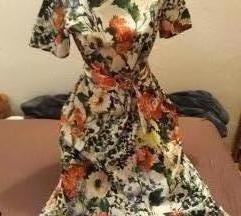 Nova midi haljina, nenošena, cijena s Tiskom