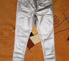 srebrene hlače