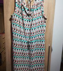 C&A šarena haljina vel. 46