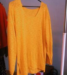 Žuta unique majica