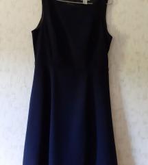 Plava haljina A kroja