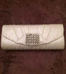 ❗️ RASPRODAJA ❗️  Srebrna pismo torbica