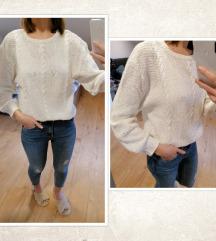 Pulover/džemper - ručni rad, vel. S/36