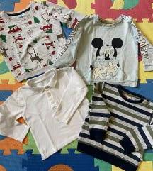 3+1 GRATIS Majice za djecake, broj 86-92