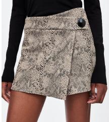 ZARA animal print kratke suknja/hlace // M/L