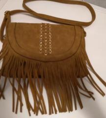 Trendi torbica od brušene kože NOVO
