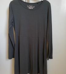 Siva peperts haljina