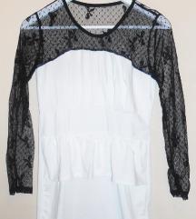Crno-bijela haljina