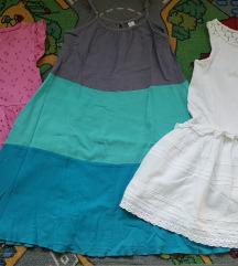 Next, Zara, H&M haljine 110/116