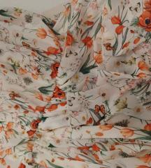 Cvjetna haljina,kao nova
