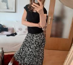 Xanaka crno bijela suknja