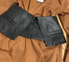 Zara remen/ pojas prava koža