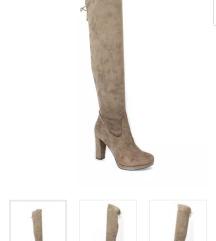 Tamaris smede cizme - novo s etiketom