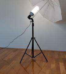 Reflektor + sjenilo(kišobran) + tronožac