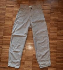 Vintage krem hlače