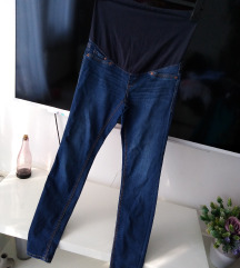 H&M MAMA SUPER SKINNY HIGH RIB