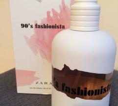 Zara 90's fashionista toaletna voda 100ml