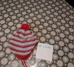 Zimska kapa babycentar od 3-6mj