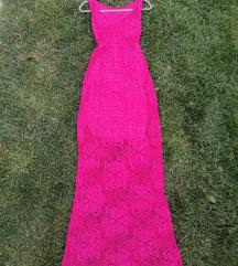 Duga končana haljina