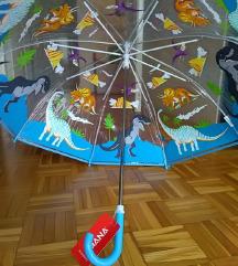Novi dječji kišobran na dinosauriće