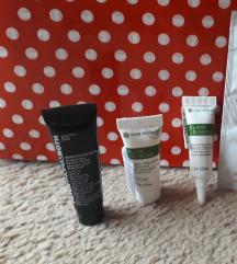 LOT za lice: krema, serum, maska