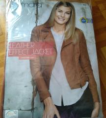 Jakna leather effect vl. 42