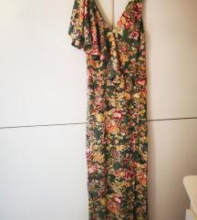 Mango cvjetna lepršava haljina, novo
