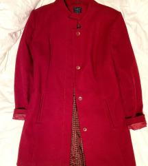 Crveni zimski kaput M&S