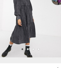 Midi haljina jeans..L XL..pt ukljucena
