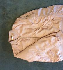 Svijetlo roza bomber jakna