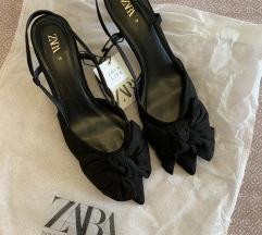 ‼️SNIŽENO‼️NOVE Zara crne cipele