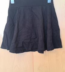 DIVIDED H&M crna suknja