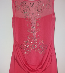 Duga roza haljina-snizena na100kn