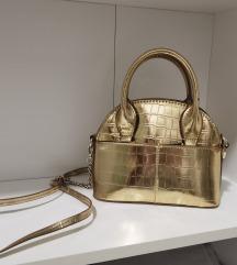 ZARA zlatna torbica