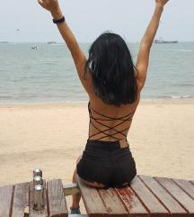 SHEIN Backless body