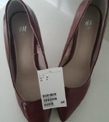 NOVO bordo štiklice sa etiketom H&M