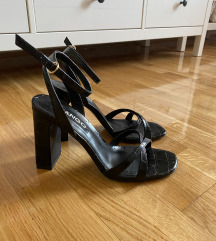 Mango - Crne visoke sandale