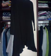 Nova crna haljina s volanom, M