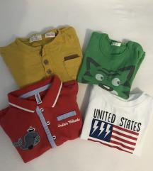 Lot majice kratkih rukava za dečka 68
