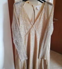 Zlatna haljinica - 50% sada 60 kn