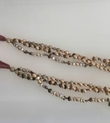 Ogrlica u tri niza
