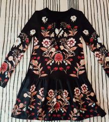 Cvjetna tunika haljina