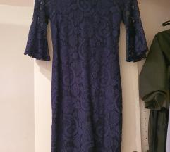 Tamnoplava haljina Mohito